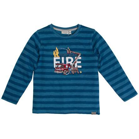 SALT AND PEPPER Langermet skjorte Rescue Stripe Dutch Blue