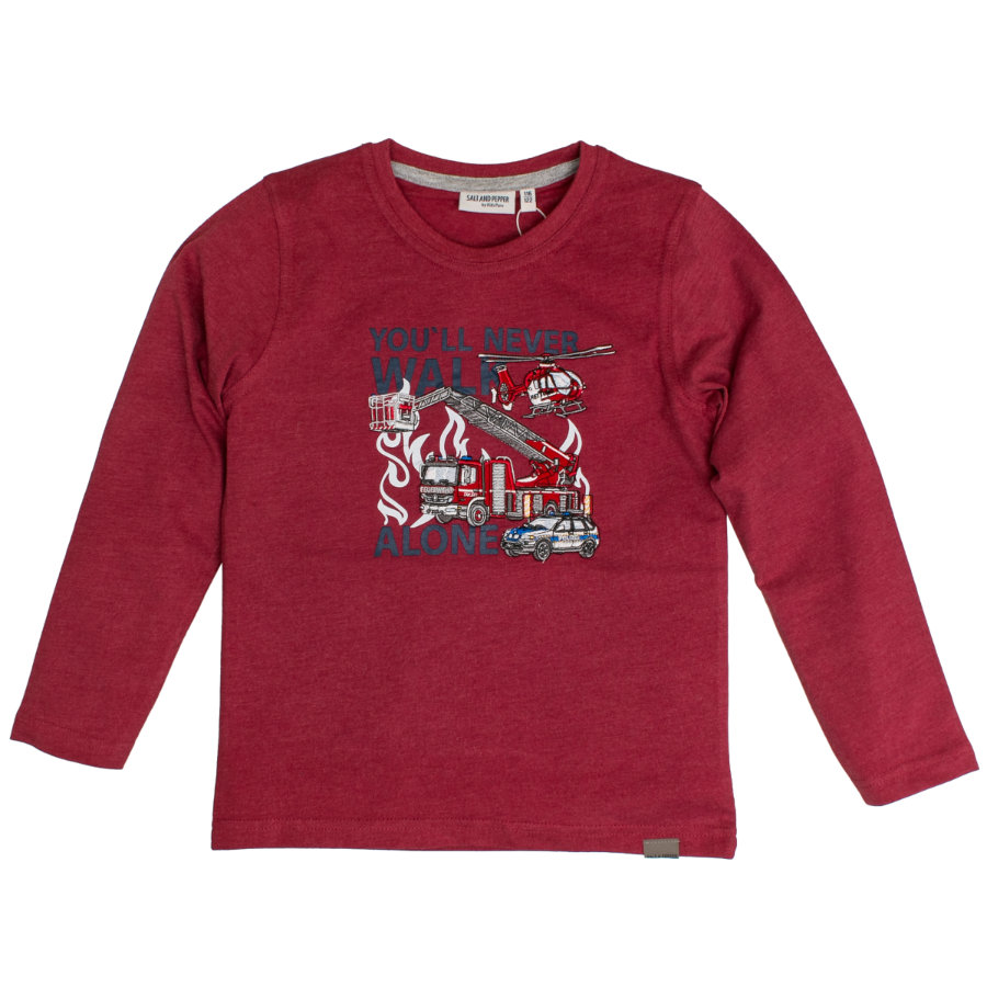 SALT AND PEPPER Langarmshirt Rescue Chilli Red