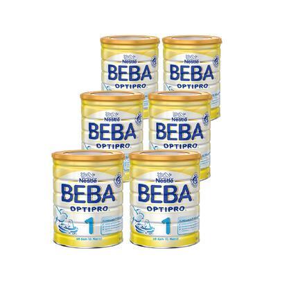 Nestlé BEBA OPTIPRO 1 Anfangsmilch 6 x 800 g von Geburt an
