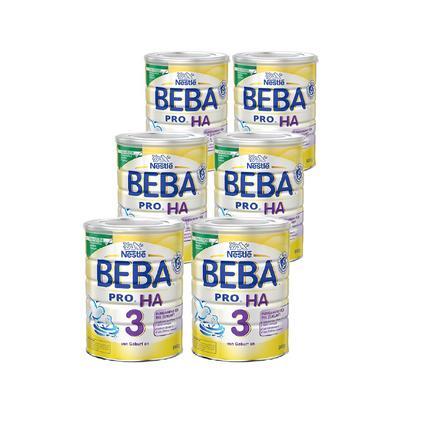Nestlé BEBA PRO HA 3 Folgemilch 6 x 800 g