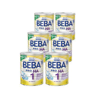 Nestlé BEBA PRO HA 1 Anfangsnahrung 6 x 800 g