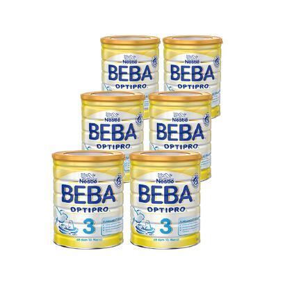 Nestlé BEBA OPTIPRO 3 Folgemilch 6 x 800 g ab dem 10. Monat