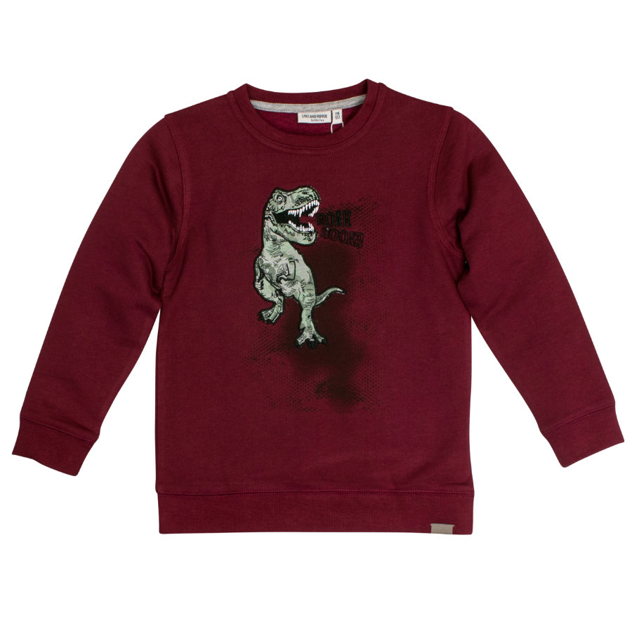 SALT AND PEPPER Boys Sweat-shirt sauvage bordeaux
