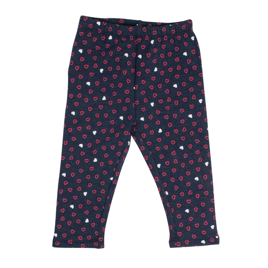 SALT AND PEPPER Girls Leggins Mon Amie allover crown blue