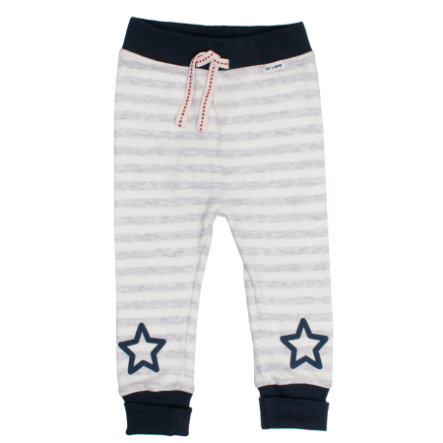 SALT AND PEPPER Sweatbroek Bear streep licht grijs melange