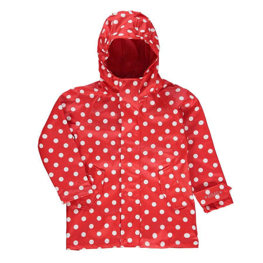 BMS HafenCity® SoftSkin® Regenmantel Punkte rot