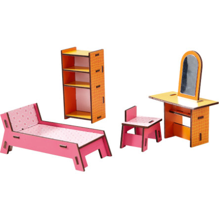 HABA Little Friends Puppenhaus-Möbel: Beauty-Ecke 300510