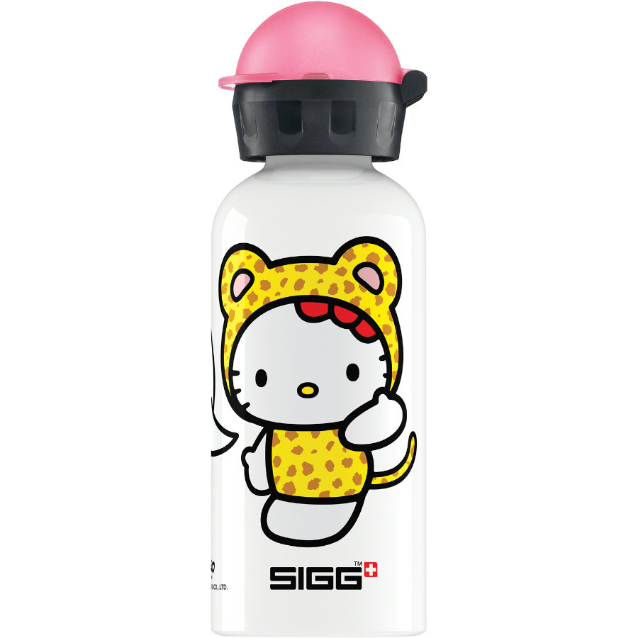 SIGG Trinkflasche 0,4l Design Hello Kitty Cheetah Costume