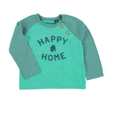 TOM TAILOR Boys Langarmshirt Happy Home goody green