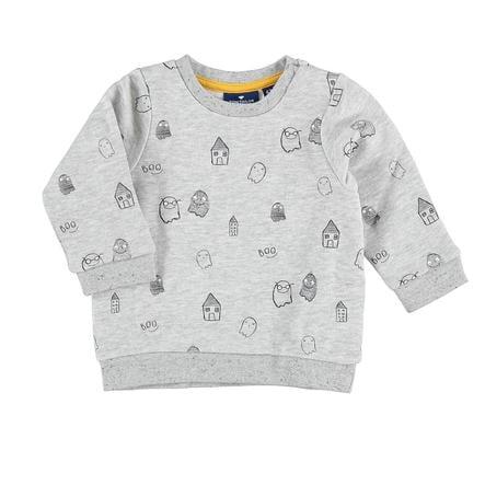 TOM TAILOR Boys sweatshirt geesten licht zilver melange