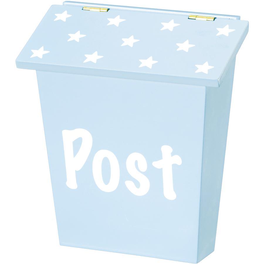 KIDS CONCEPT Postlåda Star blå