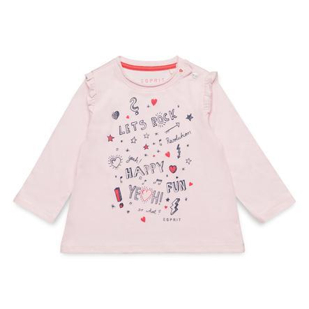 ESPRIT Girls langærmet skjorte pearl rose