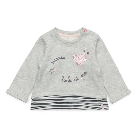 ESPRIT Sweatshirt för flickor gråmelerad
