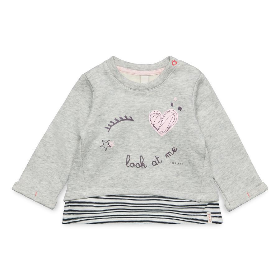 ESPRIT Girl s Sweatshirt gris bruyère