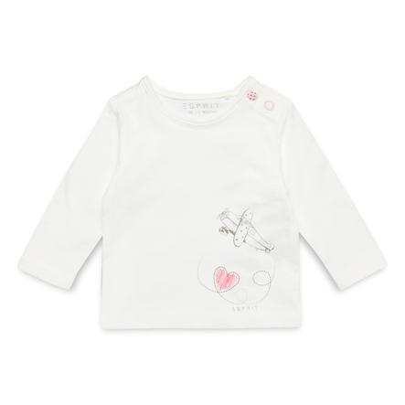 ESPRIT Girls Langarmshirt off white