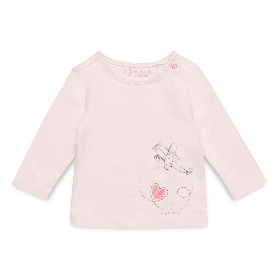 ESPRIT Girls Langarmshirt light pink