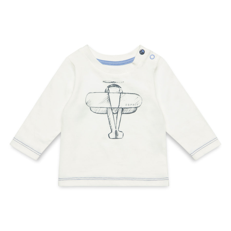 ESPRIT Boys Langarmshirt off white