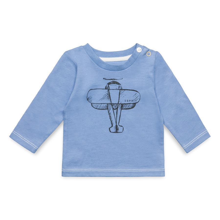 ESPRIT Boys Shirt met lange mouwen licht zeezicht
