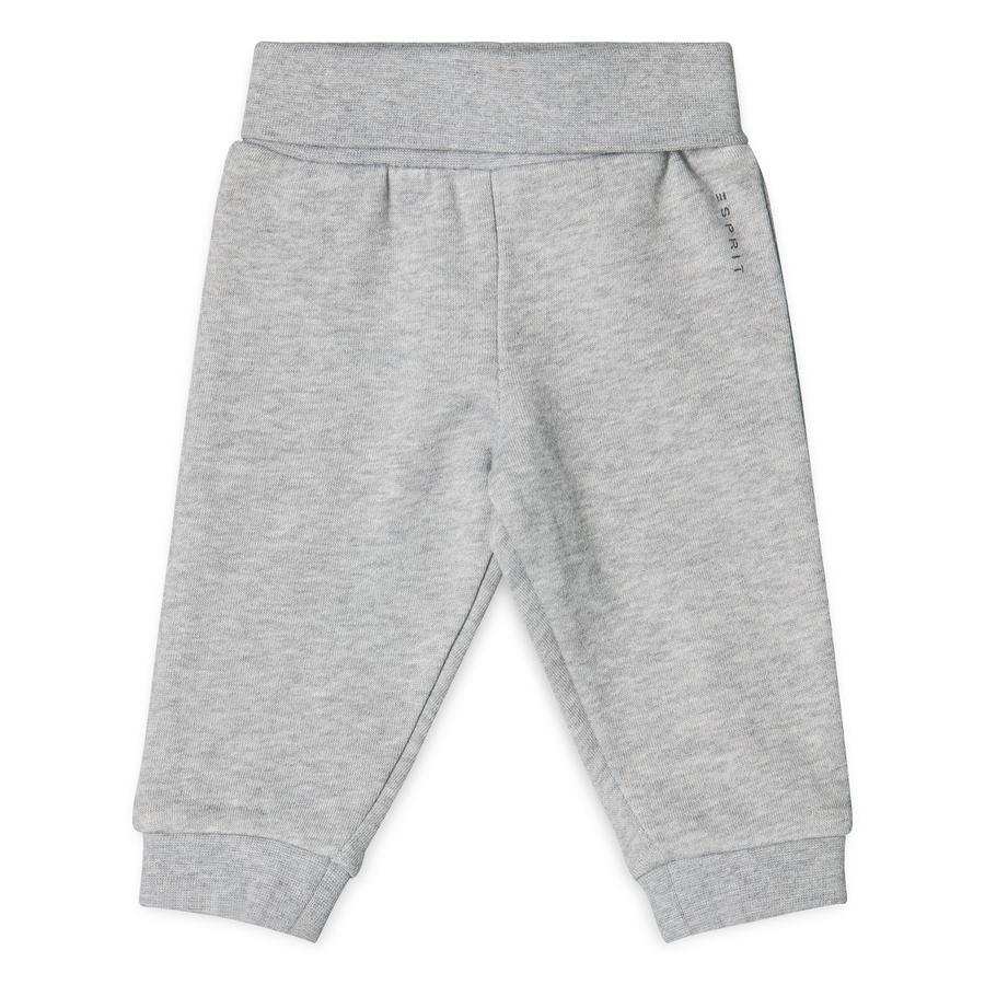 ESPRIT Boys Pantalon de survêtement bruyère gris pastel