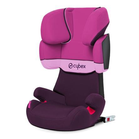 CYBEX SILVER Seggiolino Auto Solution X Fix - purple rain, colore rosa/fucsia