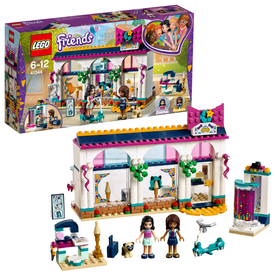LEGO® Friends - Andreas Accessoire-Laden 41344