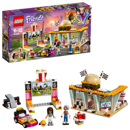 LEGO® Friends - Pitstop-café 41349