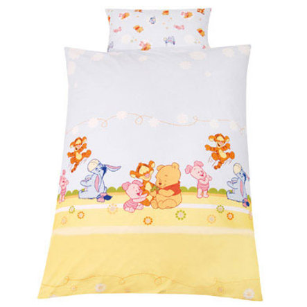 ZÖLLNER Lenzuola 80 x 80 cm Baby Pooh e Friends (1000-3)