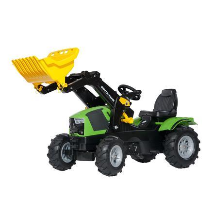 ROLLY TOYS Farmtrac Deutz-Fahr nakladač 5120, nafukovací pneumatiky