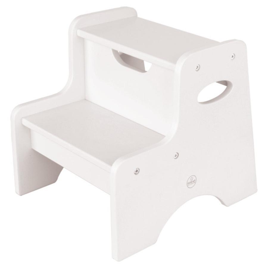 KidKraft® dřevěná stolička Step bílá