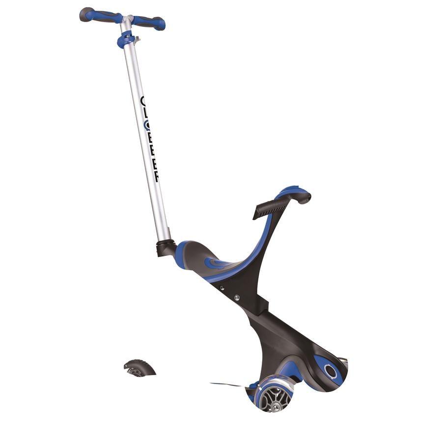 Globber Trottinette enfant 3 roues évolutive Evo Comfort 5en1, bleu marine