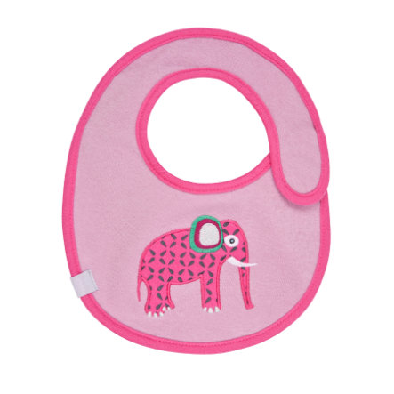 LÄSSIG Waterproof Bib small, Wildlife Elephant