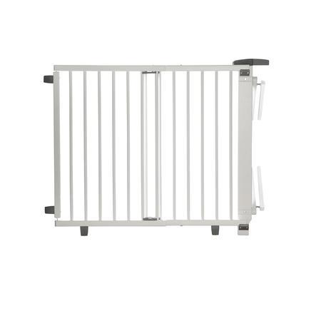 geuther Schwenk-Treppenschutzgitter Plus 2733+ 67 - 107 cm weiß