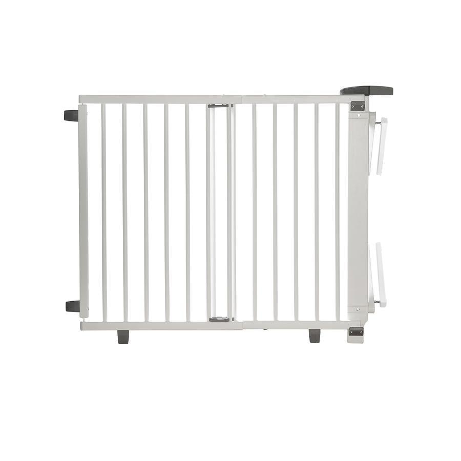 geuther Barrière de sécurité enfant escaliers Plus 2733+ 67-107cm blanc