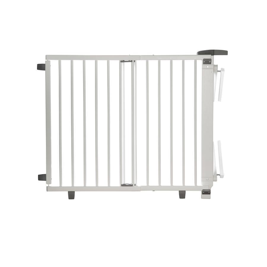 Geuther Bramka zabezpieczająca na schody Plus 2733+ 67 - 107 cm, biały