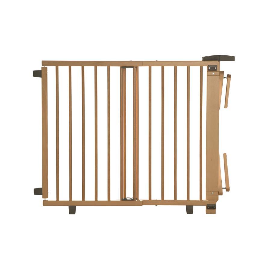 Geuther Plus 2733+ Kääntyvä Turvaporttisetti portaisiin, 67-107, puunvärinen
