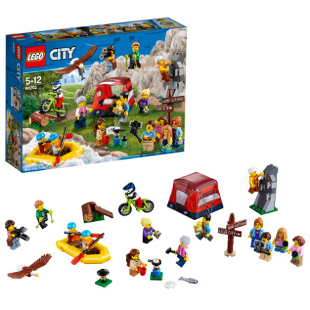 LEGO® City - Ensemble de figurines les aventures en plein air 60202