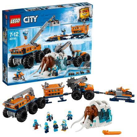 LEGO® City - Estación móvil de investigación del Ártico 60195