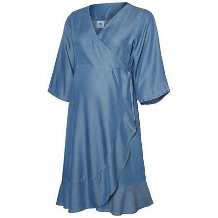 mama licious Robe de maternité MLISAELLA en jean bleu moyen