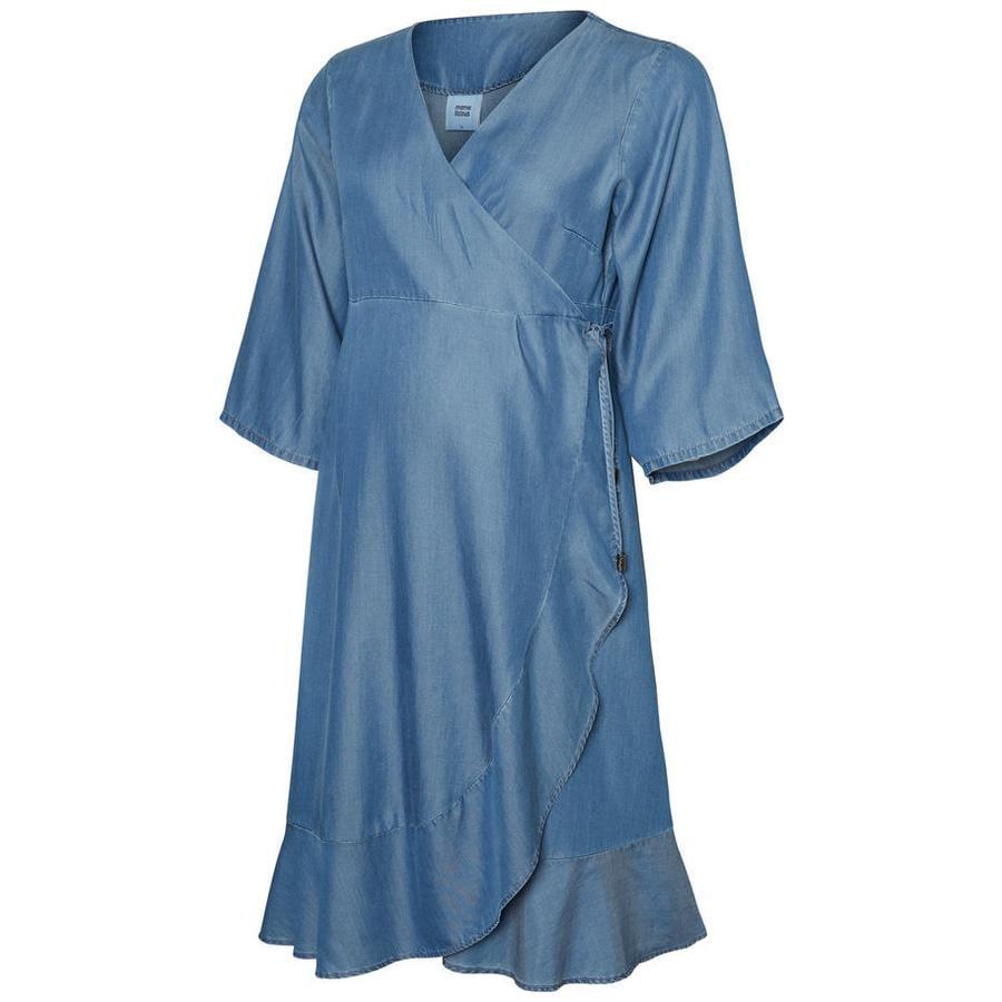 mama licious Sukienka ciążowa MLISAELLA Medium Blue Denim