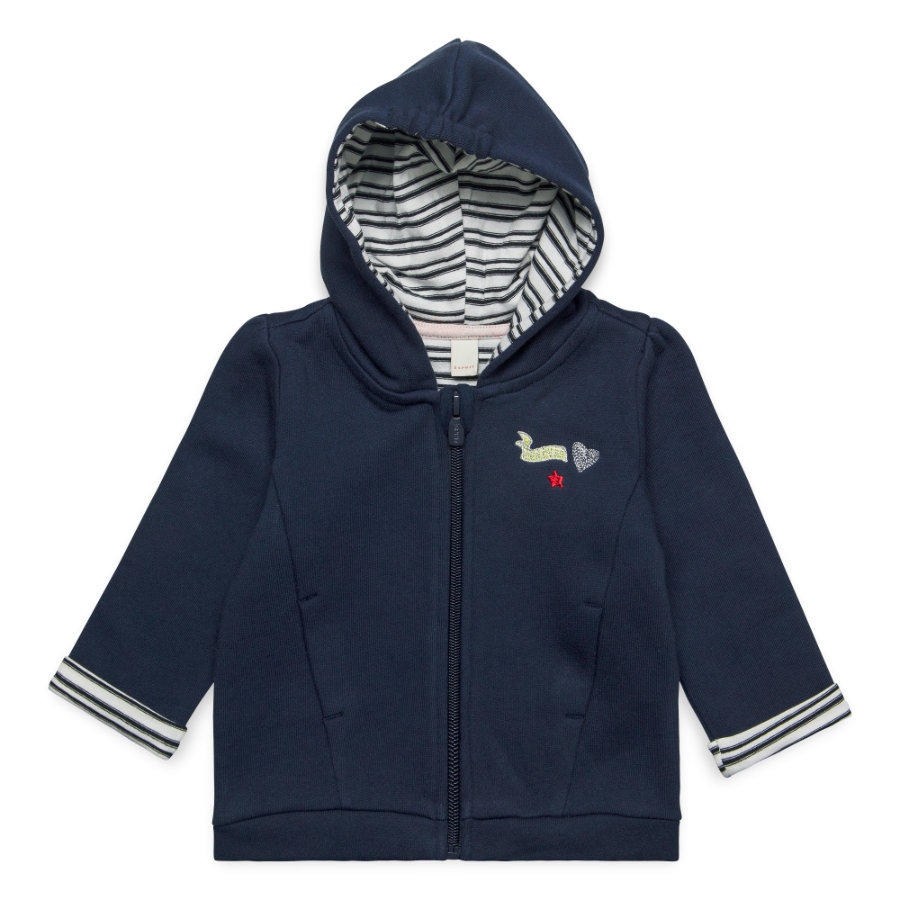 ESPRIT Girl s giacca da sudore profondo indaco