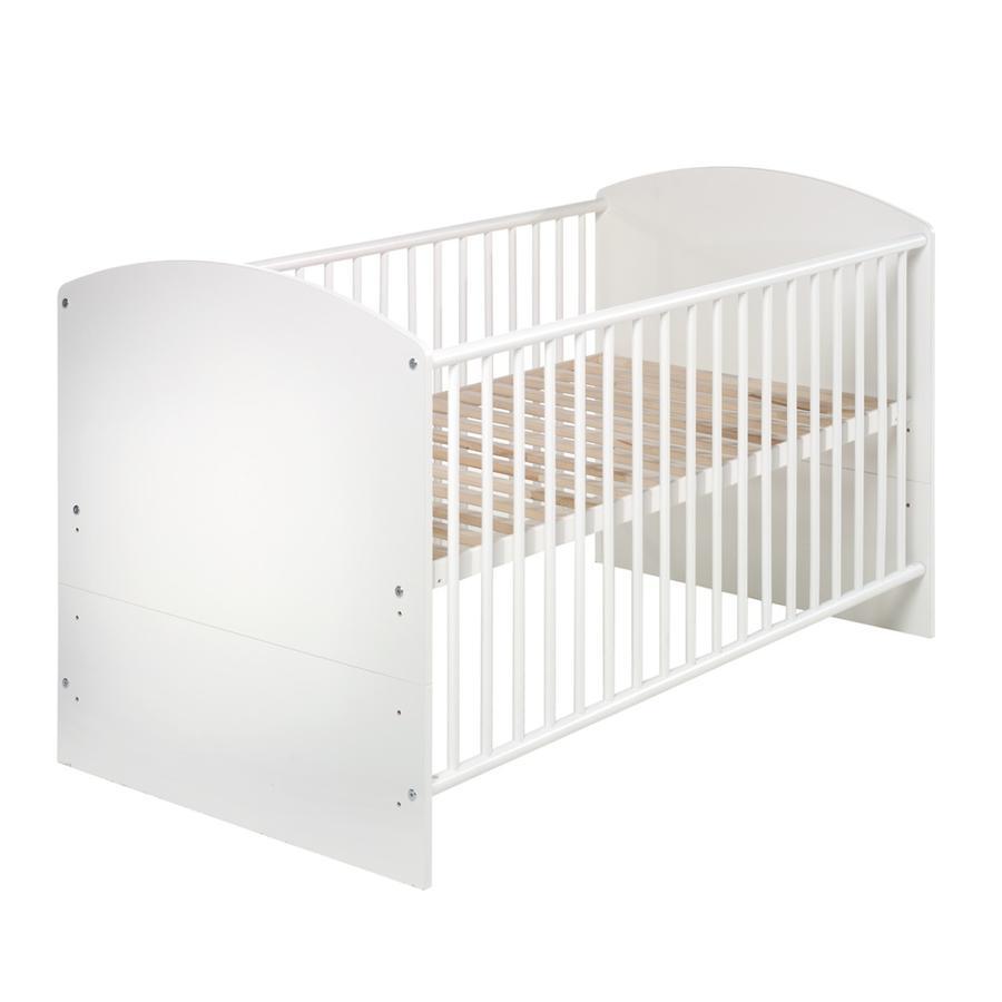 SCHARDT Lit bébé évolutif CLASSIC WHITE, 70 x 140 cm