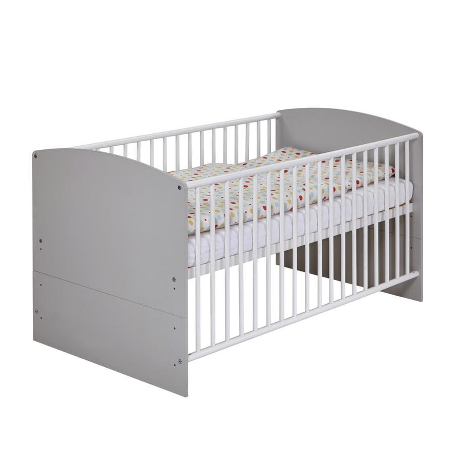 Schardt Kombi-Kinderbett Classic Grey 70 x 140 cm