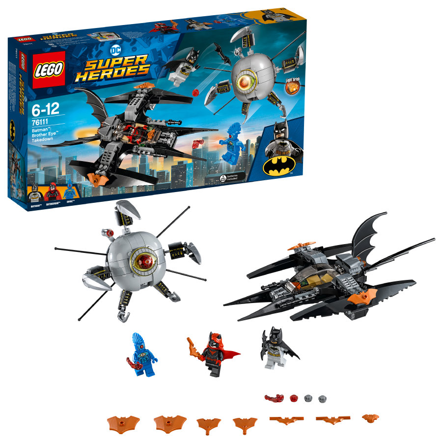 LEGO® Batman™ - Batman™: scontro con Brother Eye™ 76111