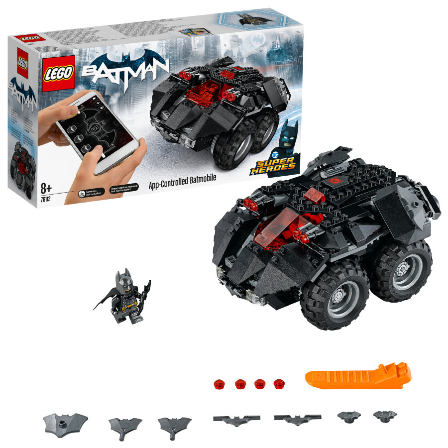 LEGO® Batman™ - App-Gesteuertes Batmobile 76112