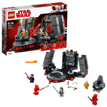 LEGO® Star Wars ™ - Sala del trono de Snoke 75216