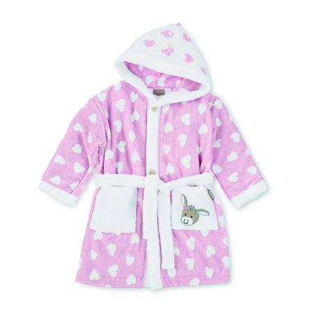 Sterntaler Peignoir de bain enfant Emmi rose