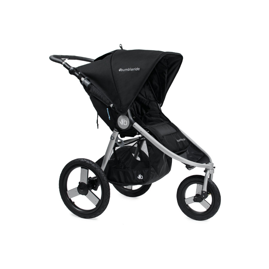 Bumbleride Poussette 3 roues Speed silver black