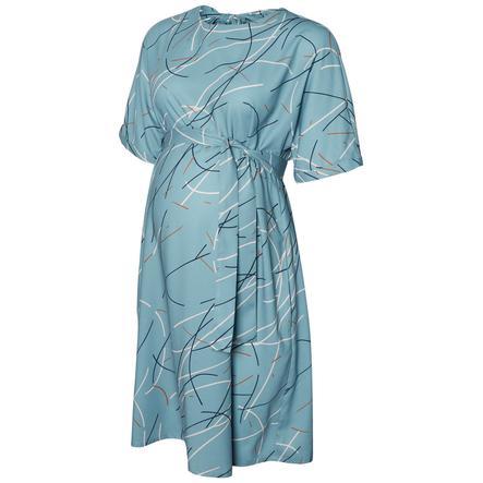 mama licious Robe de maternité MLASLAN smike bleu