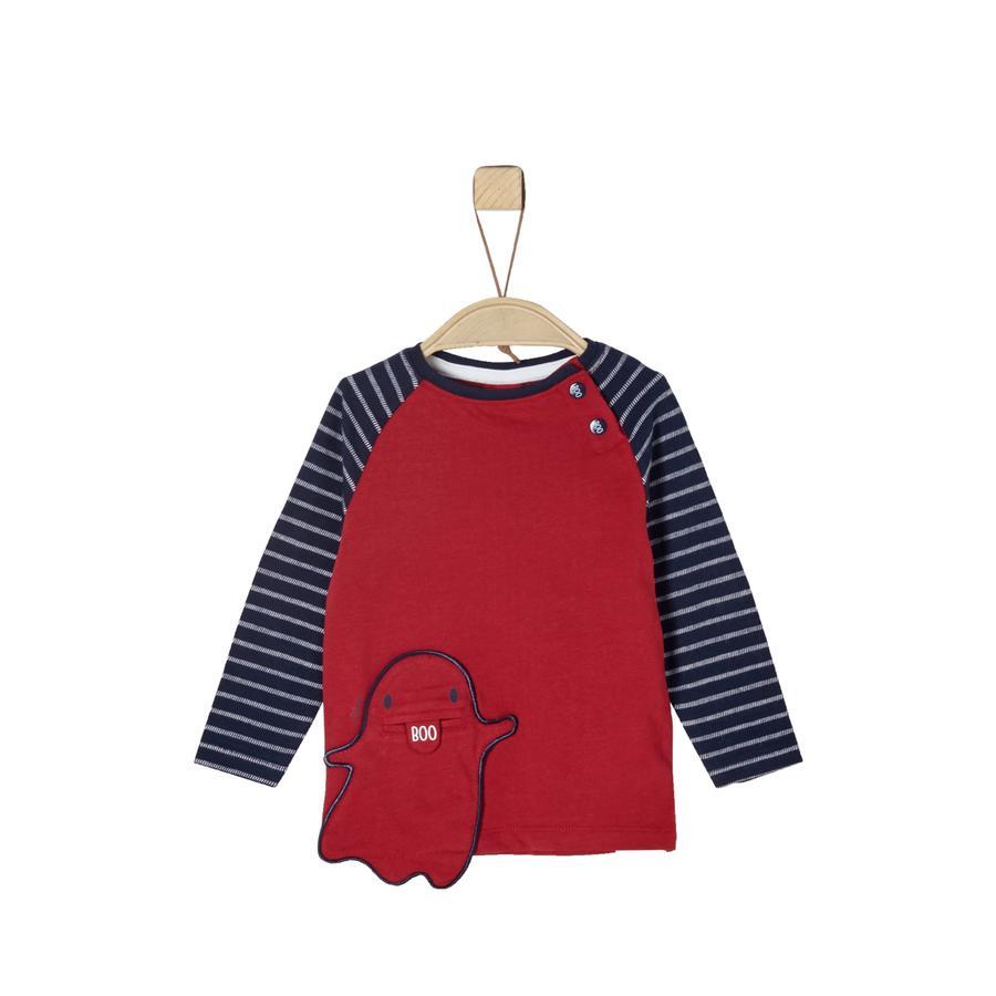 s.Oliver Langermet skjorte for gutter rød