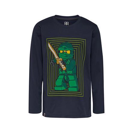 LEGO wear Koszulka z długim rękawem LEGO Ninjago Ninja Dark Navy